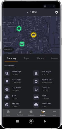 mobicar car tracking